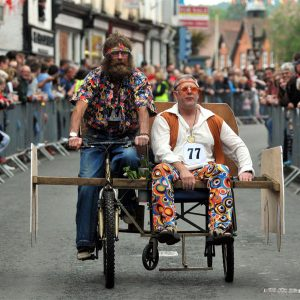 Kington Wheelbarrow Race